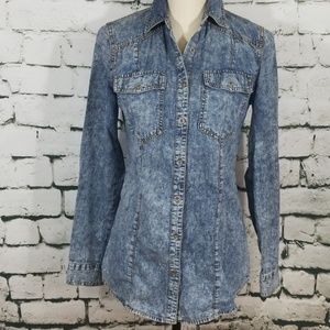 Mossimo Chambray Shirt XS